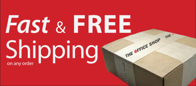 Get Fast & Free Shipping on any order!